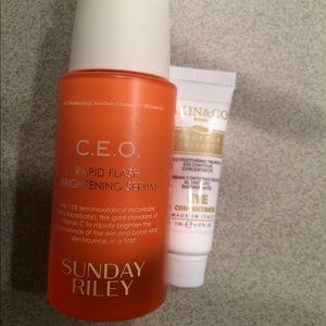 C.E.O. Rapid Flash Serum & Skin & CO Eye Contour
